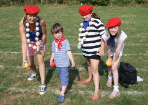 M584 Manor school french day - Tammi Milsom, Jack, Sara and Hailie