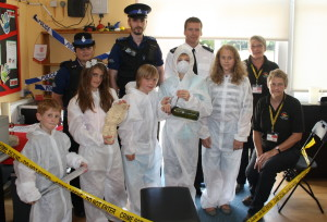 M584 Seend primary school forensic day