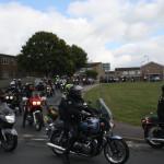 M588 Biker funeral