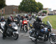 Bikers turn out to pay their respects in Melksham