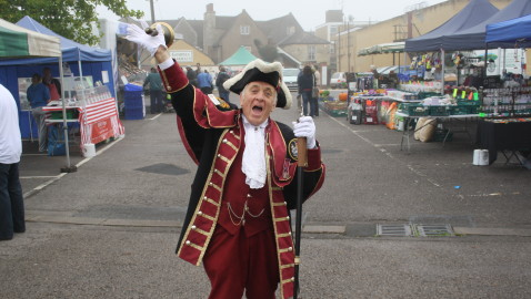 Success for Melksham Town Crier duo at Town Crier Festivals