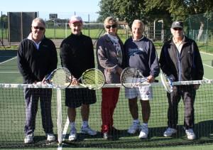 New holt tennis court