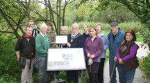 Melksham's Conigre Nature Reserve wins award from South West in Bloom