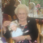 Melksham centenarian Norah Hirst.