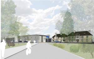Artists impression of the campus