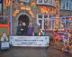 Melksham couple's Christmas lights help raise money for charity