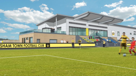Green light for Melksham's 'once-in-a-lifetime' football plans