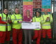 Staff find a penny and pick it up to help Melksham Foodbank