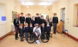 Guinness World Record holder  visits Broughton Gifford