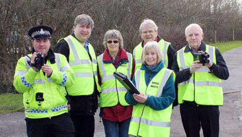 Melksham Community Speedwatch out in force