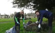 Melksham churchyard tidy up