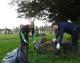 Melksham churchyard tidy up
