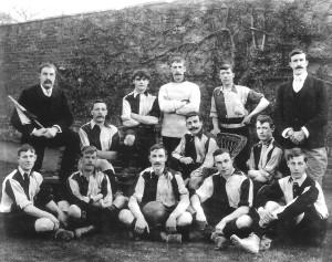 Melksham Town FC 1901-2 (Herbert is seated 2nd from left)