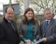 Minister sees improvements at Melksham station