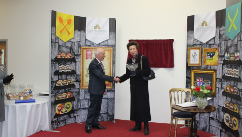 Princess Anne Comes to Melksham