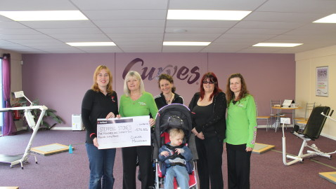 Melksham Curves' month of fundraising pays off