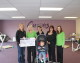 Melksham Curves' month of fundraising pays off