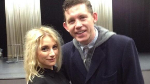 Melksham treat for Lee Evans fans