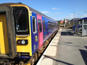 The Swindon train at Melksham