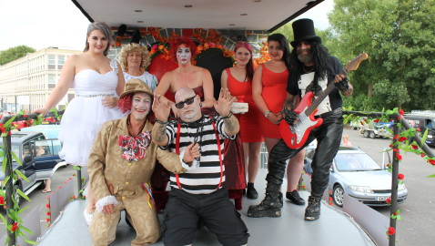 Melksham Carnival & Party in the Park – What a swell party it was!