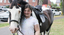 Bowerhill girl takes leavers' day by the reins