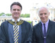 Pop star and Band Aid founder Midge Ure at Stonar Speech Day