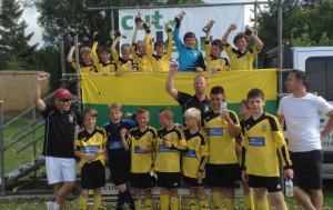 Under 11s winning Melksham teams
