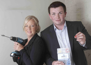 Jordan Daykin and Deborah Meaden