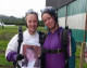 Melksham woman overcomes fear of heights with skydive