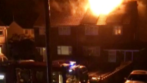 Melksham community backs family after lightning strike blaze