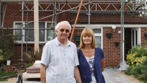 Melksham couple grateful for support following lightning strike fire