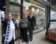 Melksham mayor opens new funeral directors