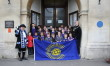 Flag flown for Commonwealth Day in Melksham
