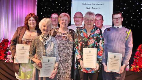 Melksham stalwarts receive Civic Awards