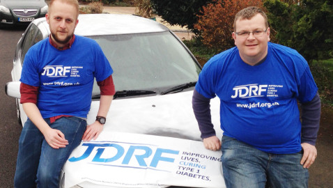 Race across Europe to raise money for charity