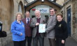 Rotary national President Visits Art House Cafe