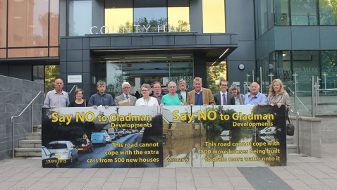Emphatic 'no' to houses at Shurnhold
