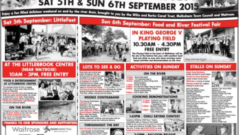 Melksham Food & River Festival 2015 Feature