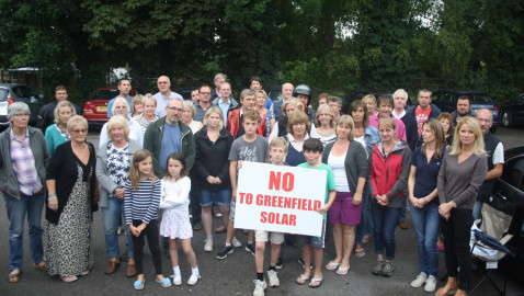 Villagers' relief as solar plans withdrawn