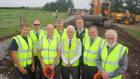 Construction work starts on new Melksham rugby and football facilities