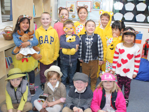 Pupils take part in Children in Need events