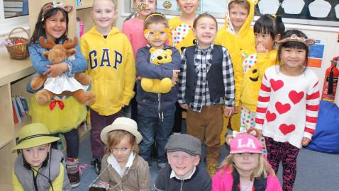 Melksham schools show their support for Children In Need