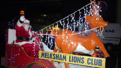 Santa is coming to Melksham!