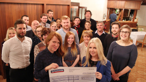 Over £15,000 donated in memory of Leigh
