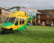 No room for manoeuvre!  Air Ambulances land in Bowerhill