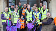 Melksham gets 'Clean for the Queen'