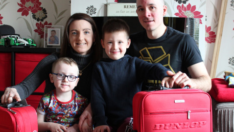 Community raises £60,000 for toddler's life-changing op