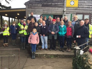 Volunteers at Broughton Gifford