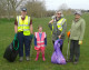 Volunteers get stuck in  at Forest Tidy Town Day