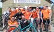 Team cycle raises £4,500 in memory of teacher